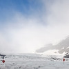 At Athabasca Glacier