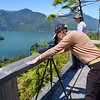 """At Knight Inlet - on the 'Walk above the clouds"""" - sans clouds"""