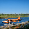 Seaplane base at Campbel river - our flights to Knight Inlet lodge