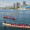 Dragon Boat Races at False Creek