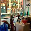 Glass shop in Murano