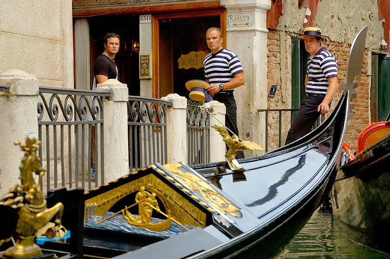 Angry Gondoliers