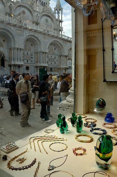 Glass shop, Saint Mark's Square