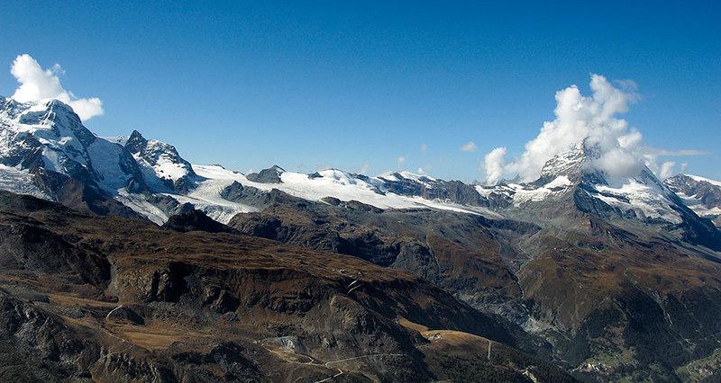 The Matterhorn expanse