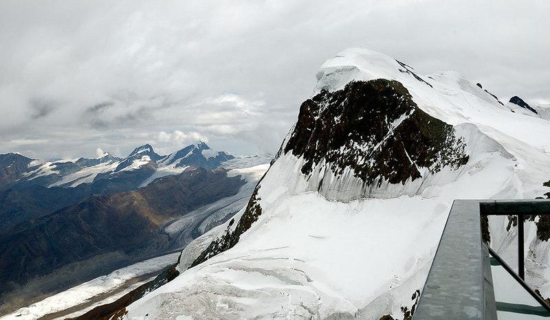 On top of the Matterhorn Glacier