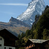 Matterhorn (4,478 metres - 14,693 feet) taken from Zermatt.