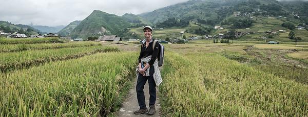 A walk through a small village