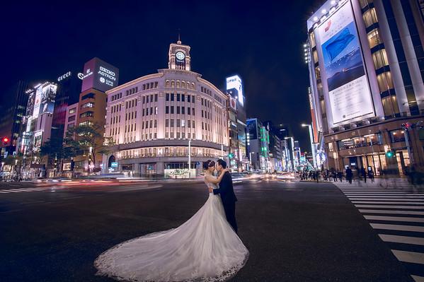 CHRIS+YEN PRE-WEDDING KYOTO&TOKYO