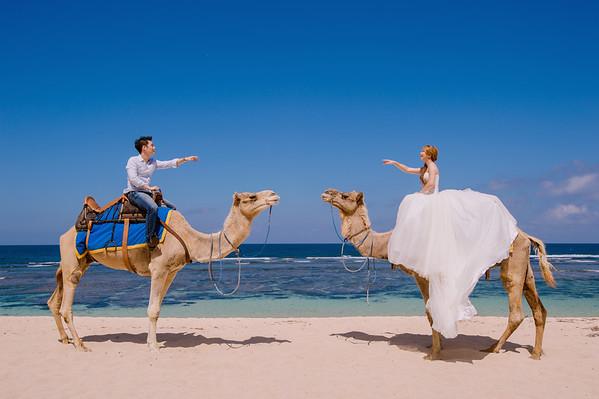 JUSTIN+FLORA PRE-WEDDING BALI