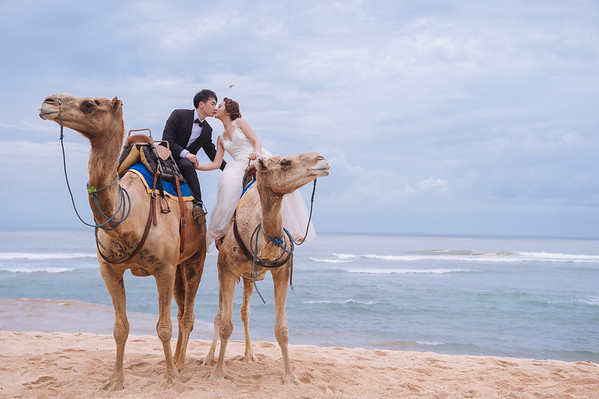 LANCE+MICHELLE PRE-WEDDING BALI