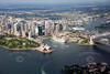 Sydney from the air.