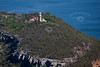 Barrenjoey Lighthouse from the air.