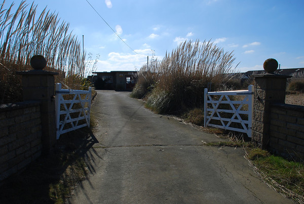 The Camp entrance off the main road