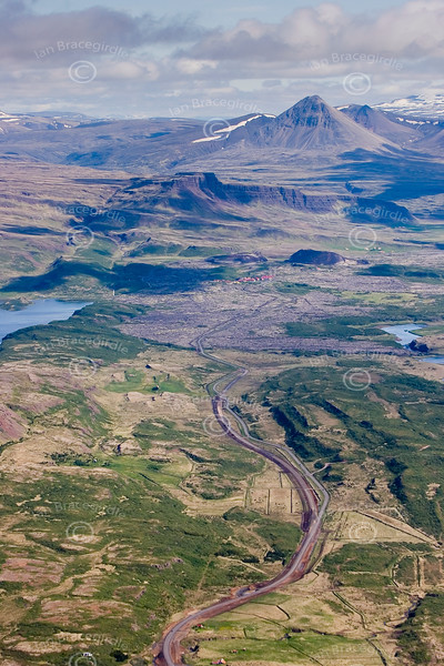 Iceland from the air.