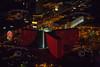 Las Vegas night time aerial photos.