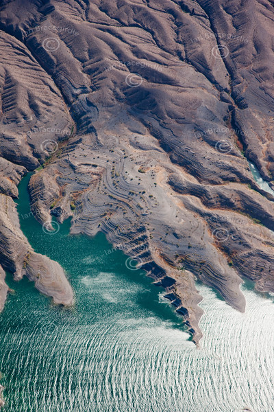 A stock aerial photo of Lake Mead in Nevada.