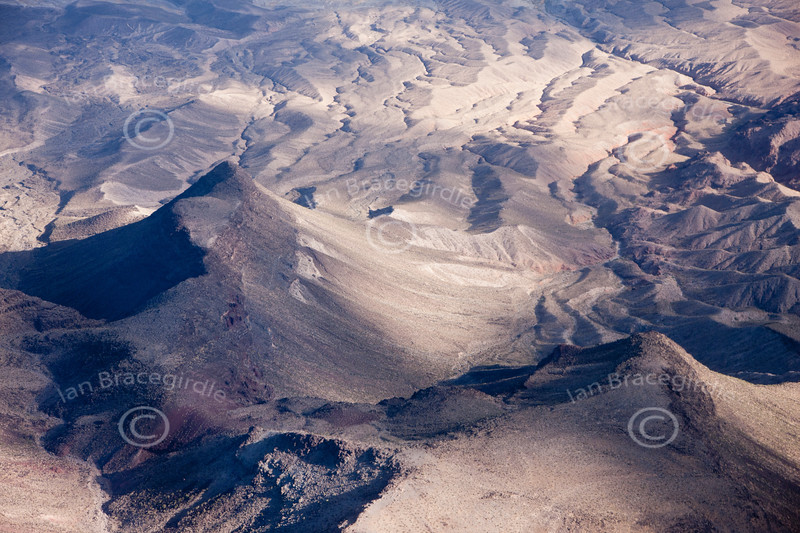 A stock aerial photo of The Grand Canyon area.