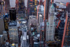 Aerial photo of Manhattan, New York City.