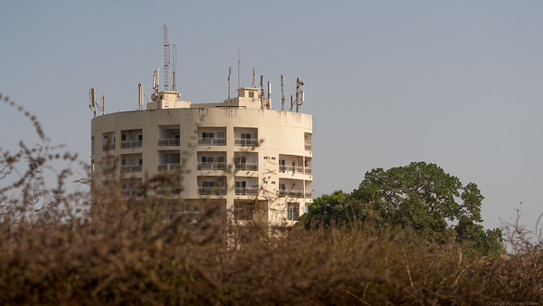 Tower near Sewage Works - The Gambia 2020