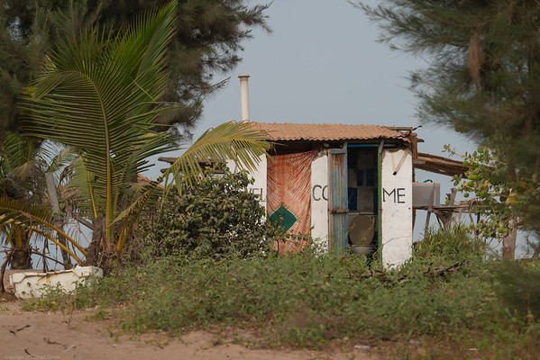 Paradise Beach Hut - utility - The Gambia 2020