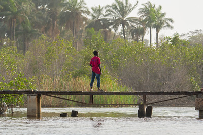 Boy on Bridge - The Gambia 2020