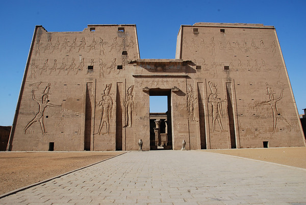 Temple of Edfu 2008.