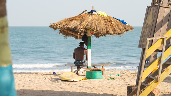 Paradise (! )Bottle  Beach - The Gambia 2020