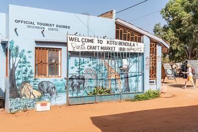 Kotu Bendula Craft Market - The Gambia 2020
