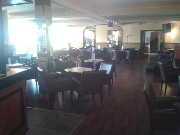 First floor bar area