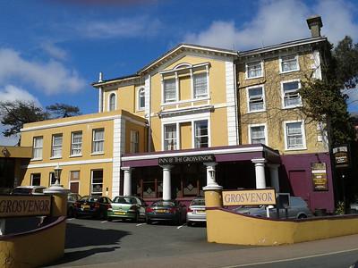 The Grosvenor Hotel,Torquay,Devon 2013.