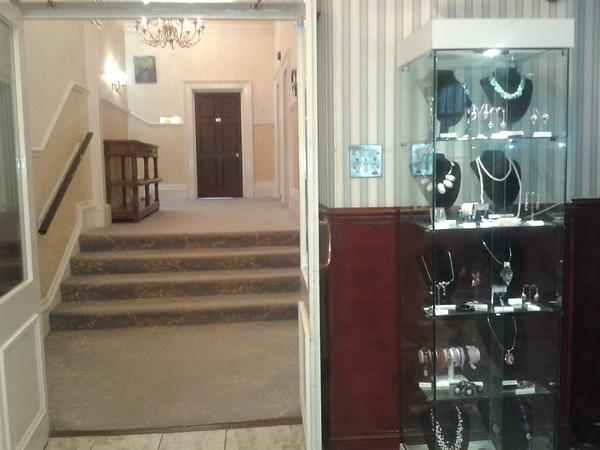 Inside near reception