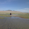 A water crossing in Mongolia.