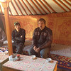 Lunch in a Ger Mongolia.