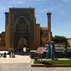 Armin Timur Mausoleum, Smarkand, Uzbekistan.