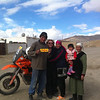 Our hosts in Murghab Tajikstan