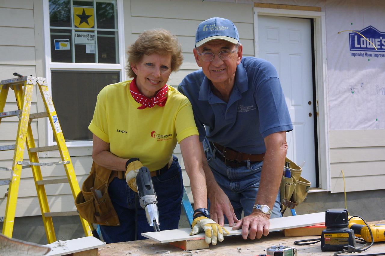Fuller Center co-founders Linda and Millard Fuller.