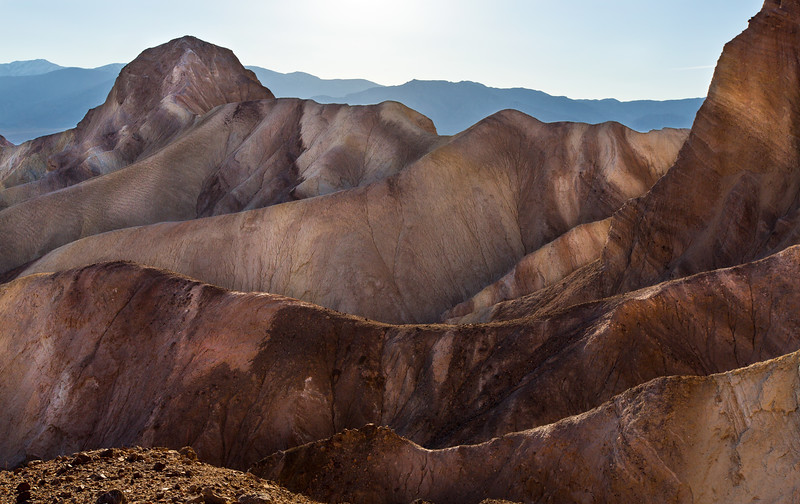 Off Zabriskie Point, Death Valley CA