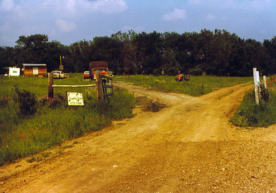 View of Land from gate 1975