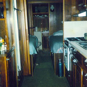 Inside view of Trailer on Land 1975