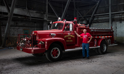 1961 IH 501 Fire Truck - Crescent Iroquois FPD