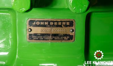 1972 John Deere 6030 #1 - Brad & Casey Walk