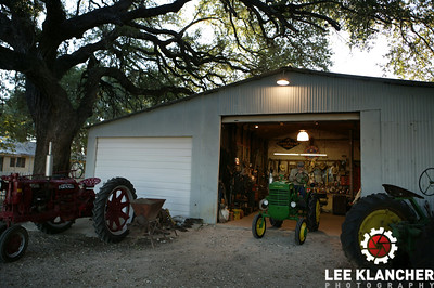 Charles Klein farm in Stonewall, Texas.