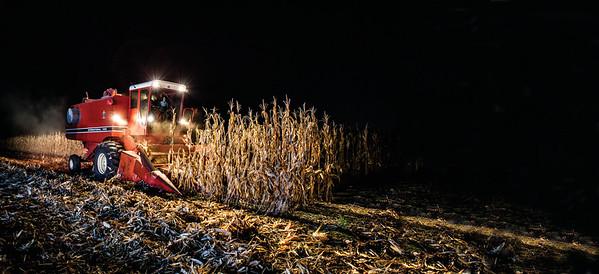 International Harvester Axial-Flow Combines