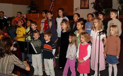 Kids Choir - Thanksgiving 2008