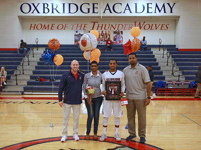 Oxbridge Senior Rashard Hammonds