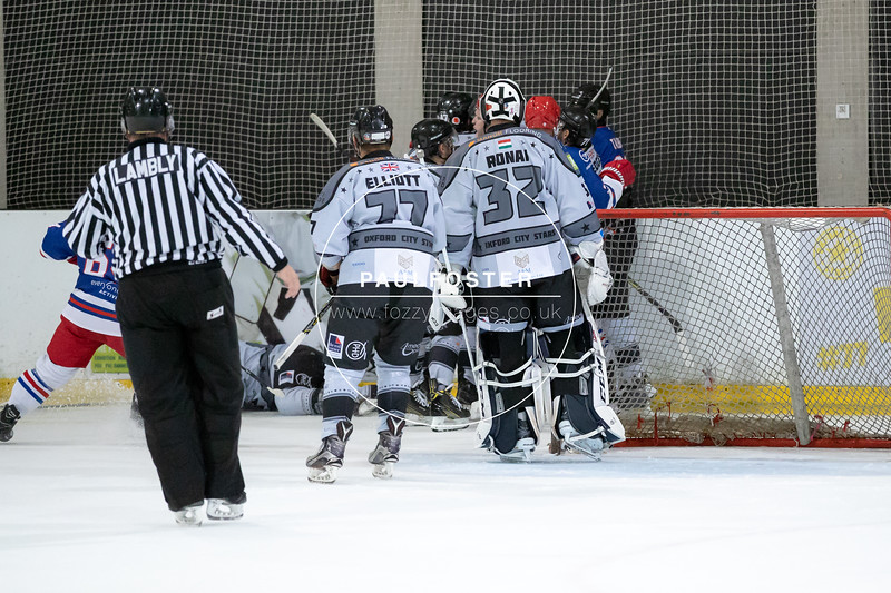 Oxford City Stars Vs Slough Jets