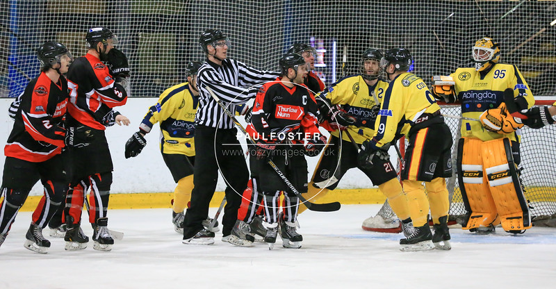 Oxford City Stars Vs MK Thunder