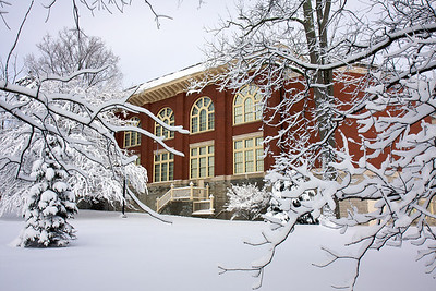 Miami University campus McGuffey Hall Copyright 2010, Tom Farmer