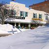 Snow on High Street, Oxford, OH<br /> Copyright 2004, Tom Farmer
