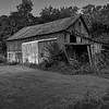 Old rustic barn on Indian Creek Rd. near Oxford, Ohio